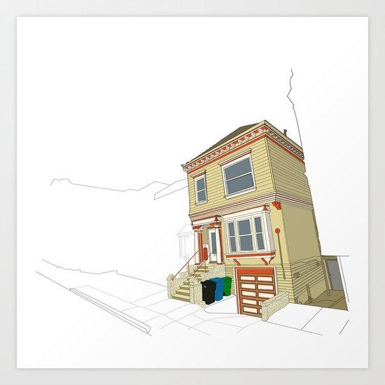 Mike's House Art Print