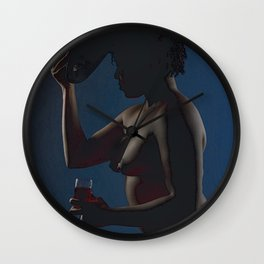 I Tip My Hat to Your Excellence Wall Clock