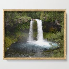 Koosah Falls Oregon Serving Tray