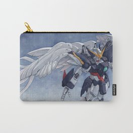 Gundam Wing Zero watercolor Carry-All Pouch