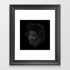 Basquiat Framed Art Print