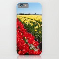Tulips field Slim Case iPhone 6s