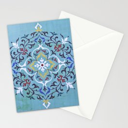 Calligraphy Flower Stationery Cards