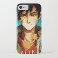 viria iPhone & iPod Cases featuring the son of neptune by viria