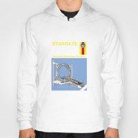 stargate Hoodies featuring Stargate by Paul Elder