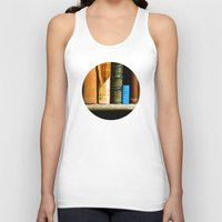 books Tank Tops featuring Books  by Loaded Light Photography