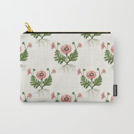 Rooted Poppy Carry-All Pouch