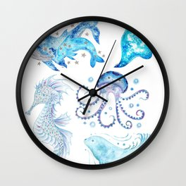 Oceanic Collection Wall Clock