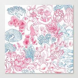 Mycology 1 Canvas Print