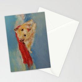 Hamster Superhero Stationery Cards
