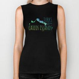 Turks & Caicos Biker Tank