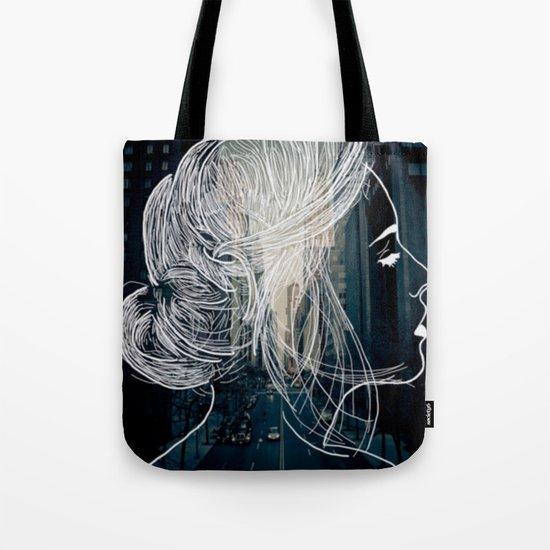 The woman who never sleep Tote Bag