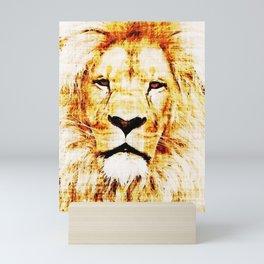 King of The Jungle Mini Art Print
