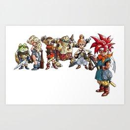 Chrono Trigger Team Art Print