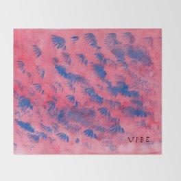 Miami Vibe. Throw Blanket