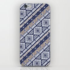 Abstract ornament. Rustic . Stripe. iPhone & iPod Skin