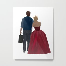 At the Beginning with You Metal Print