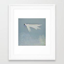 Afloat (Water Woman X) Framed Art Print
