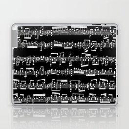 Sheet Music // Black Laptop & iPad Skin