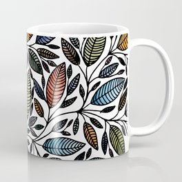 Floral Illustration - Leaf - No*52 Coffee Mug