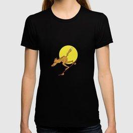 Foxy longboarder T-shirt