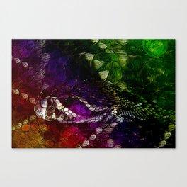 Interstellar Snake Canvas Print
