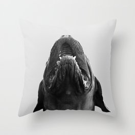 THE DOGUE monochrome Throw Pillow