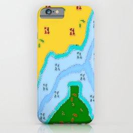 Les trois rivières... iPhone Case