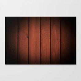 Brown dark boards texture Canvas Print