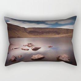 Llyn y Fan Fach Lake Rectangular Pillow