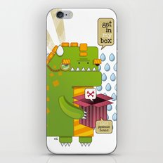 Godzilla get´s hungry!!! iPhone & iPod Skin