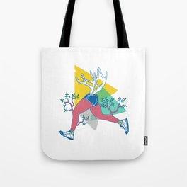 Run like a deer Tote Bag