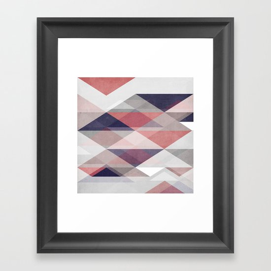Nordic Combination I Framed Art Print