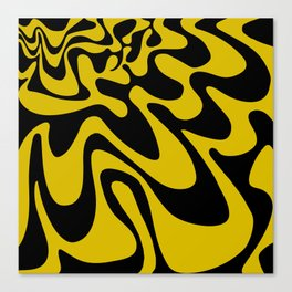 Swirly Whirly: Abstract Pop Art Painting by Bruce Gray Canvas Print
