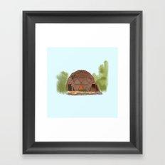 Geodesic Dome Home - Warren OH Framed Art Print