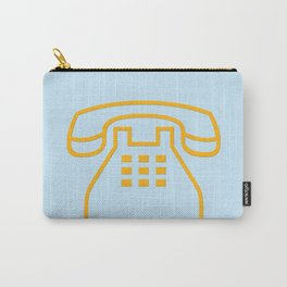 telephone symbol illustration Carry-All Pouch