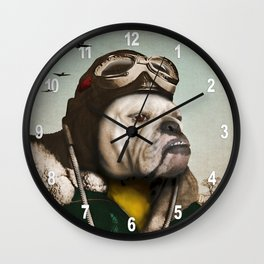 "Wing Commander, Benton ""Bulldog"" Bailey of the RAF Wall Clock"