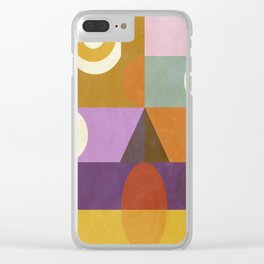 Modern Totem 2  #Society6 #buyart Clear iPhone Case