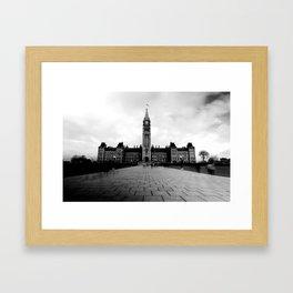 Parliament Hill - B&W Framed Art Print