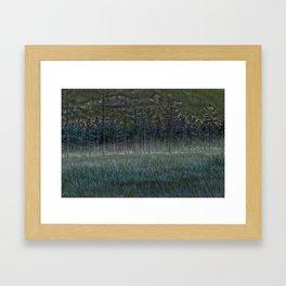 November mist- the time of souls Framed Art Print