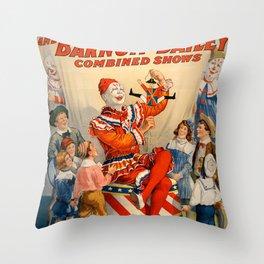 Ringling Circus Throw Pillow