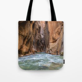Swept Away (The Narrows, Zion National Park, Utah) Tote Bag