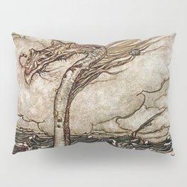 """""""Sea Serpent"""" by Arthur Rackham Pillow Sham"""