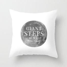Giant steps   W&L004 Throw Pillow