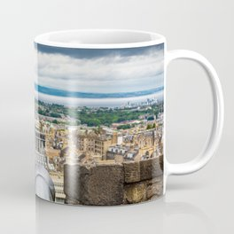 View from Edinburgh Castle, Scotland Coffee Mug