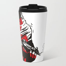Death wears a track suit Travel Mug