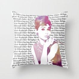 My Audrey Throw Pillow