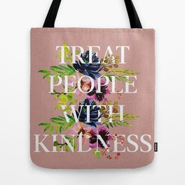 Treat People With Kindness graphic artwork / Harry Styles Tote Bag