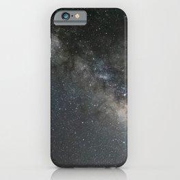 Milky Way, Jupiter & Saturn iPhone Case