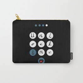 Unlock me (my guarded heart) Carry-All Pouch
